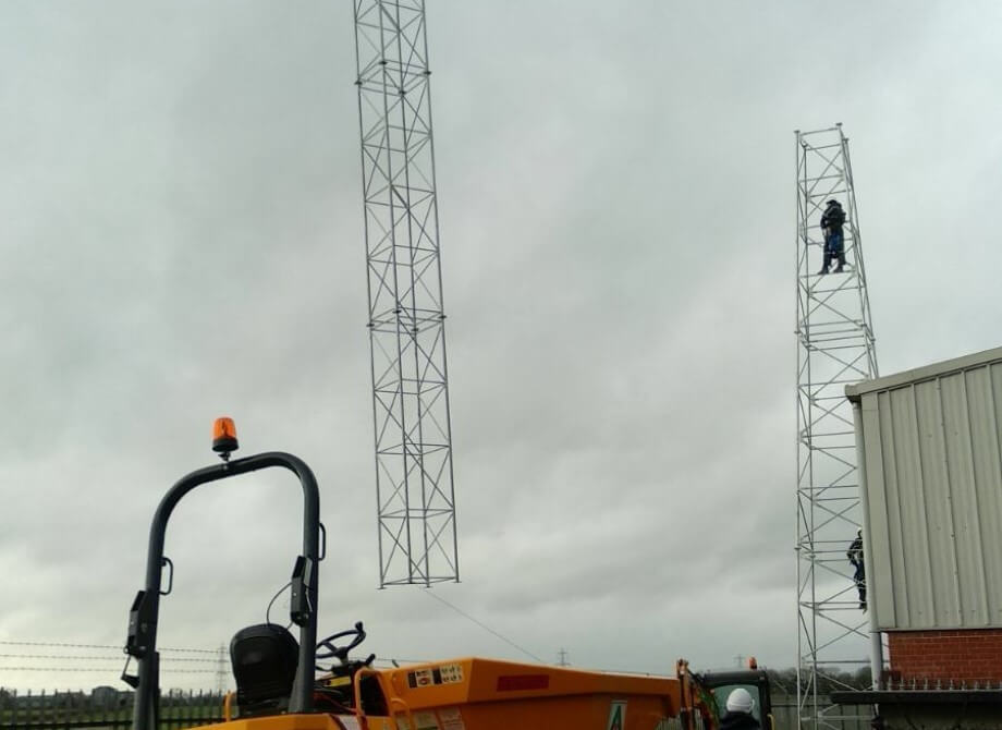 Installing the new ITSwisp Long Stratton mast
